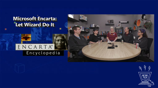 Microsoft Encarta: Let Wizard Do It