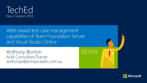 Web-based test case management capabilities of TFS and Visual Studio Online