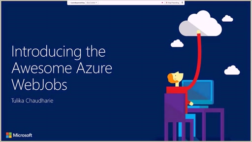 Developer Support Series Introducing the Awesome Azure WebJobs