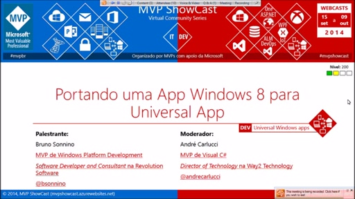 Portando uma App Windows 8 para Universal App