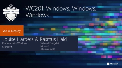 Windows, Windows, Windows…