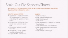 Windows Server 2012:  Continuously Available File Shares