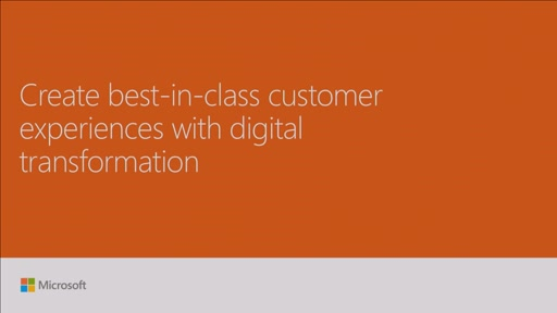 Create best-in-class customer experiences with digital transformation