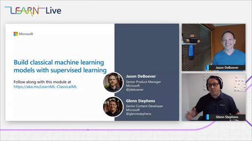 Build classical machine learning models with supervised learning