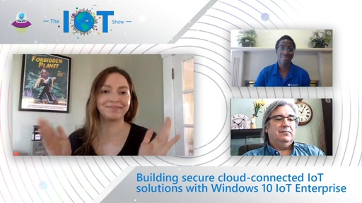 Deep Dive: Building secure cloud-connected IoT solutions with Windows 10 IoT Enterprise