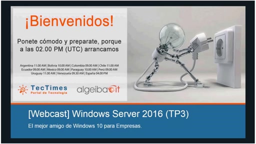 [Webcast] Windows Server | ¿Qué hay de nuevo en Windows Server 2016? – 29/08/2015