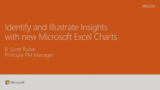 Identify and illustrate insights with new Microsoft Excel Charts