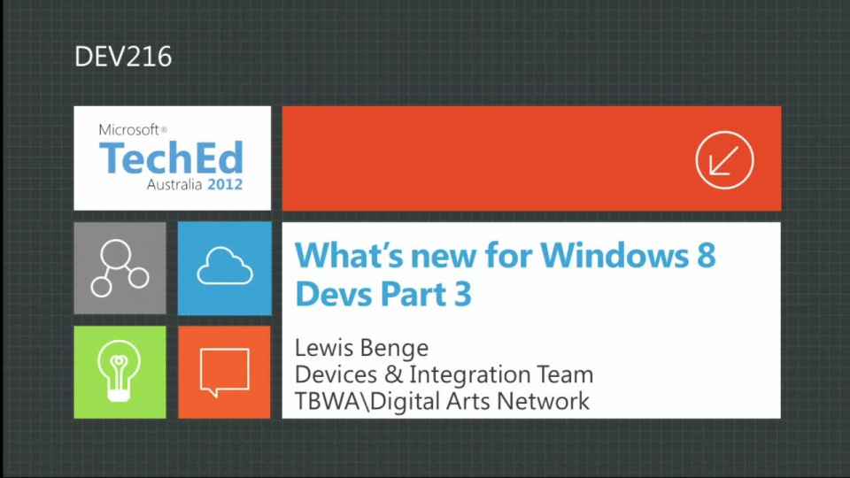 What's New for Windows 8 Devs Part 3