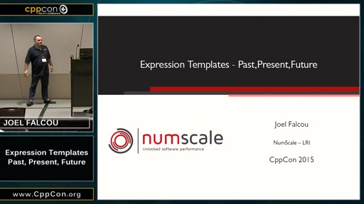Expression Templates: Past, Present, Future Part I