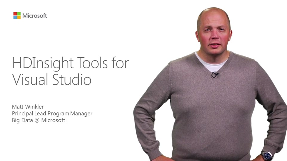 HDInsight Tools for Visual Studio