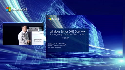 Hybrid-Infrastructure: Windows Server 2016 Overview – The Beginning of a Hybrid Cloud Inspired Journey