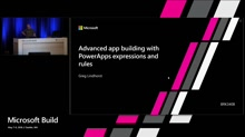 Advanced app building with PowerApps expressions and rules