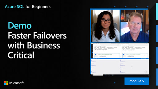 Demo: Faster Failovers with Business Critical (49 of 61)