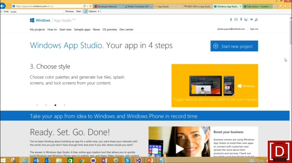 (Part 1) Windows App Studio: How to take your app from idea to app in record time