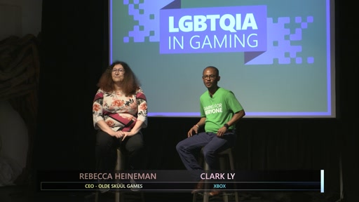 Gaming for Everyone: LGBTQIA in Gaming Rebecca Heineman Fireside Chat