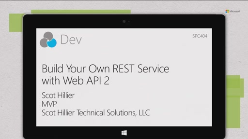 Build your own REST service with WebAPI 2