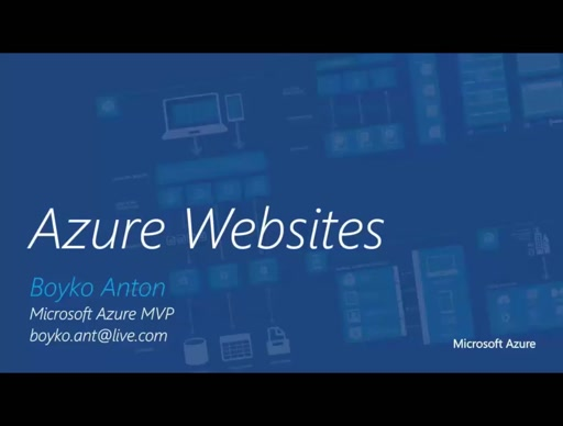 01 | Azure overview for Node.JS developers