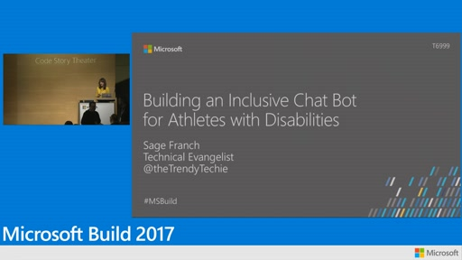 Cloud4Good: Building an inclusive chat bot for athletes with disabilities