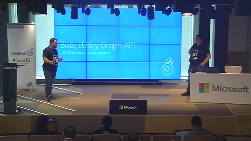 Auditorio - Bots, L.U.I.S y Graph API... ¿un Office 365 con superpoderes?