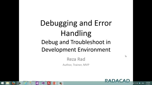Debug and Troubleshoot in Development Environment