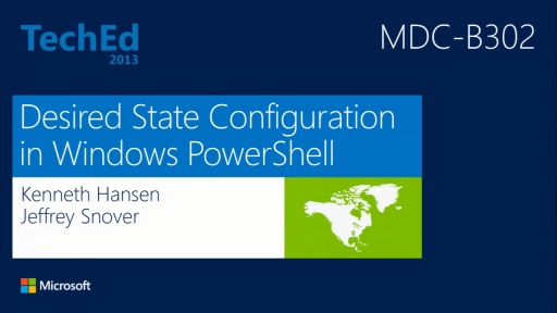 Desired State Configuration in Windows Server 2012 R2 PowerShell