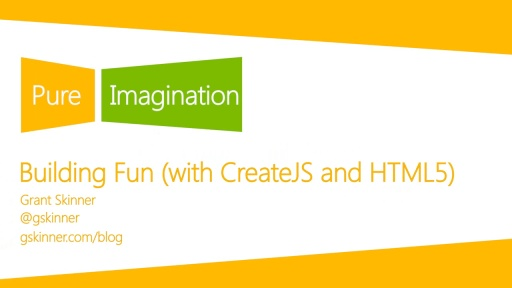 Building Fun (with CreateJS and HTML5)