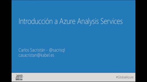 Track 2 Sesión 2 - Introducción a Azure Analytic Services