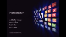 Pixel Bender: A DSL for Image Processing