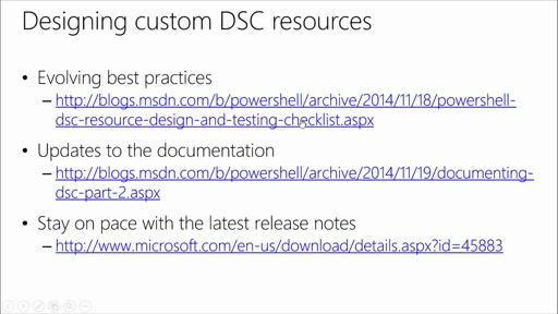 Advanced PowerShell Desired State Configuration (DSC) and Custom Resources: (02) Implementing and Testing Custom Resources