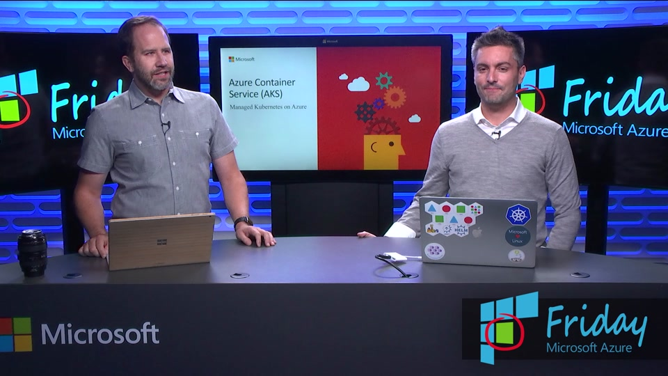 Container Orchestration Simplified with Managed Kubernetes in Azure Container Service (AKS)