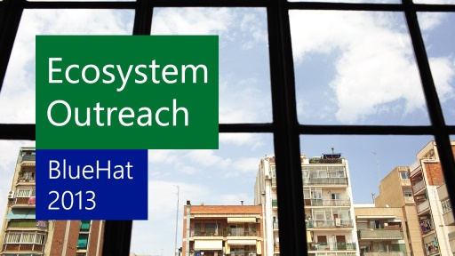 Security EcoSystem Outreach