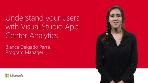 Understand your users with Visual Studio App Center Analytics