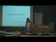 MS-SMB Server Test Suite Scenarios Presentation 2011