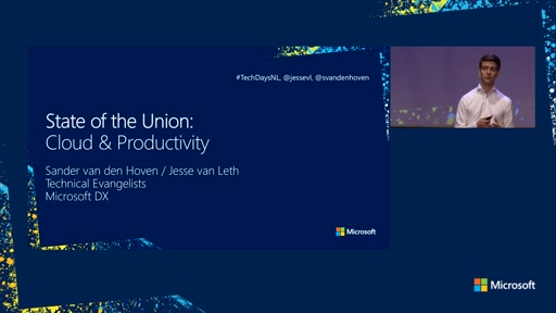 State of the Union: Cloud & Productivity