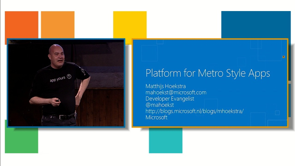 Platform for Metro Style Apps