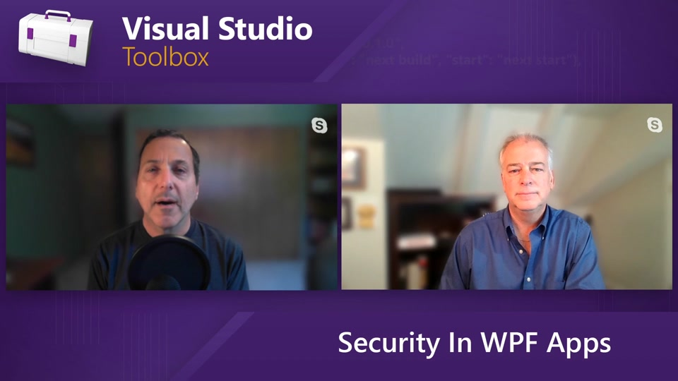 Security in WPF Apps