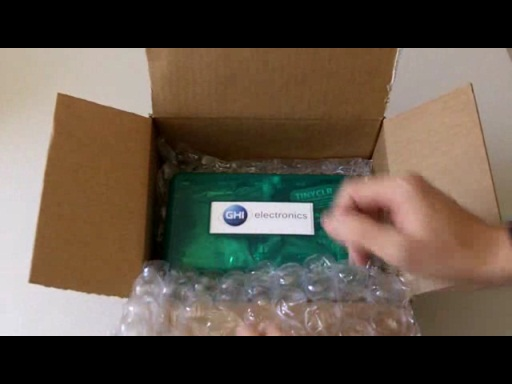 Video: FEZ Spider .NET Gadgeteer Starter Kit Unboxing
