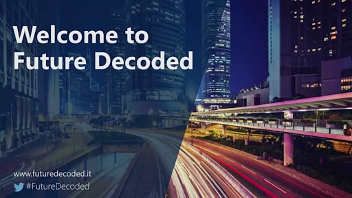 #FutureDecoded 6 Ottobre 2016 - Keynote