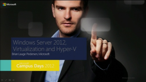 Windows Server 2012, Virtualization and Hyper-V
