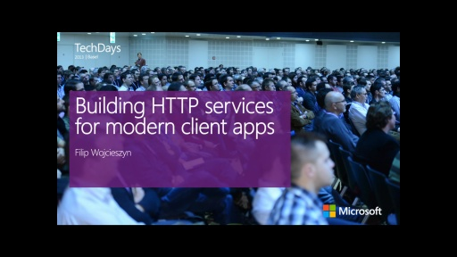 Building HTTP services for modern client apps (e)