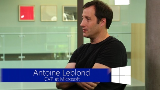 Windows 8.1: Interview with Antoine Leblond