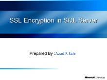 SSL Encryption for SQL Server