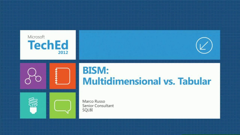 BISM: Multidimensional vs. Tabular