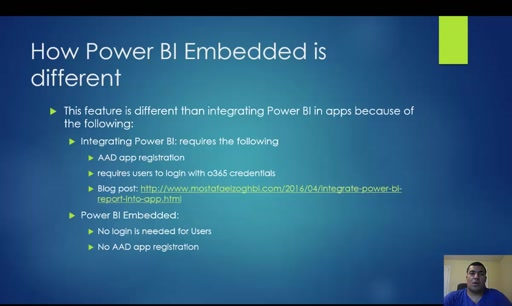 Power BI Embedded Explained - Part 1