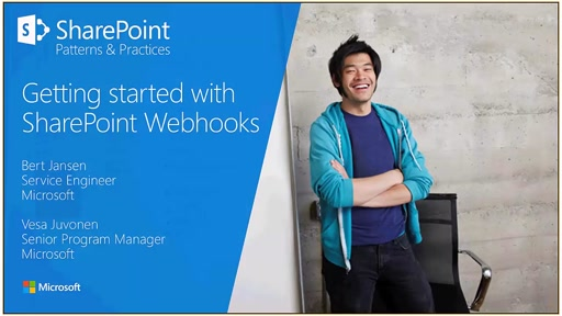 PnP Webcast - Getting started with SharePoint Webhook