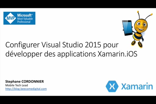 Configurer Visual Studio 2015 pour développer des applications Xamarin.iOS