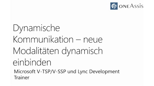 Skype for Business – der zentrale Kommunikationsbaustein der IT-Infrastruktur