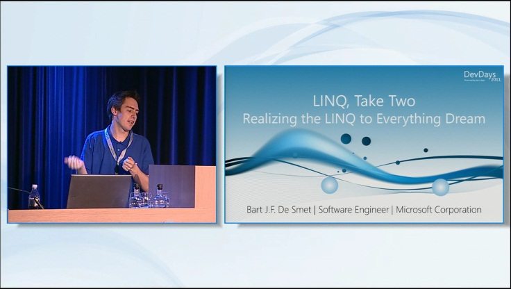 LINQ Take Two - Realizing the LINQ to Everything Dream