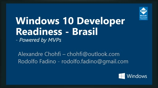 Windows 10 Developer Readiness [Brazil]