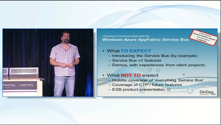 Ubiquitous Communication with the Windows Azure Service Bus